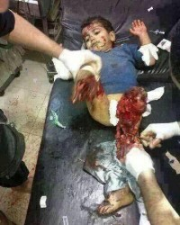 İsrail'in katlettiği Filistinli bebeklerin görüntüleri +18