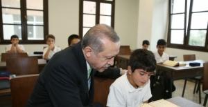 Cumhurbaşkanı Erdoğan Kuran Dersine Girdi