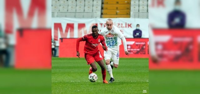 Ziraat Türkiye Kupası: Beşiktaş: 0 - Çaykur Rizespor: 0 (Maç devam ediyor)