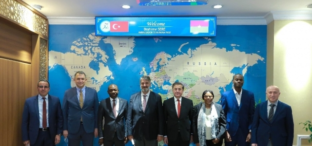 Burkina Faso Ankara Büyükelçisi'nden KBÜ ziyareti