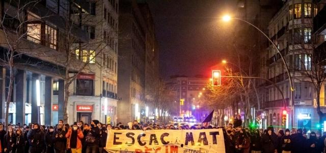 İspanya rapçi Hasel protestolarıyla karışıyor