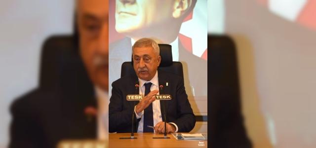 """TESK Genel Başkanı Palandöken: """"Esnafa verilen destekler 1 yıl daha sürmeli"""""""