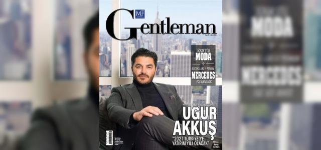 Türk iş adamı İtalyan dergisine kapak oldu