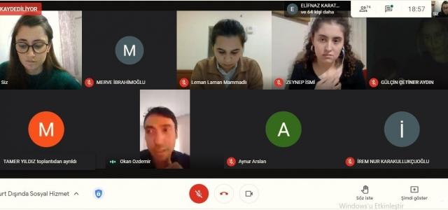 Sosyal hizmet uzmanları yurt dışı deneyimlerini paylaştı