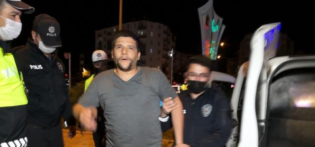 Alkollü halde kısıtlamayı delmekle kalmadı: Polise hakaret etti, basına saldırdı
