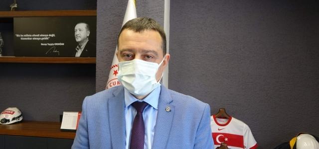 """İl Sağlık Müdürü Usta: """"Trabzon'da 35-60 yaş arası hastaneye başvuran Covid hastası oranı artıyor"""""""