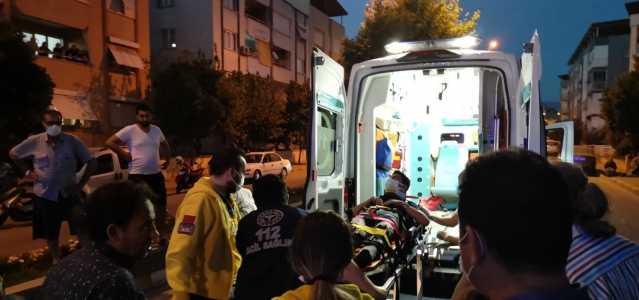 Nazilli'de otomobil ile motosiklet çarpıştı: 1 yaralı