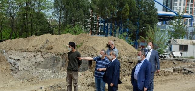 Şehit Metin Arslan İlkokulu'nun yapımına başlanıldı