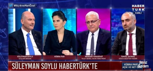 Soylu: Ahmet Davutoğlu bizi odalarımızda dinlettirdi!