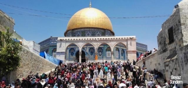 Terör devleti İsrail, Kudüs'te yine saldırdı!