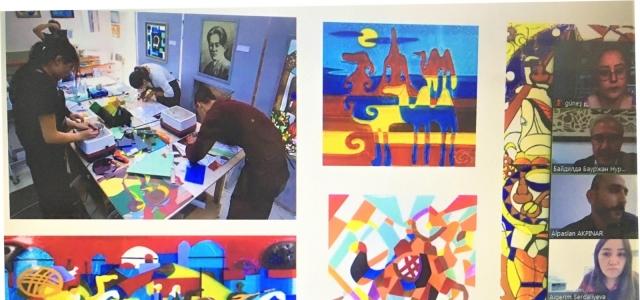 EBYÜ ile Jurgenov Kazak Ulusal Sanat Akademisi arasında işbirliği protokolü