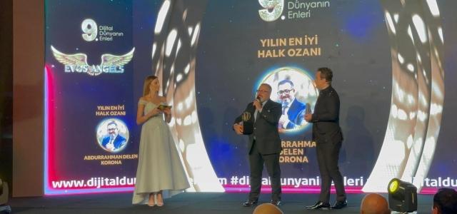 """Tedavi sırasında yazdığı türküyle """"En iyi halk ozanı"""" ödülünü aldı"""