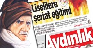 Said Nursi'ye Aydınlık Gazetesi'nden iftira