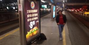 Sefaköy metrobüs durağında bomba şüphesi