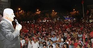 Fener alayına 3 bin kişi katıldı