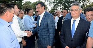 Gümrük ve Ticaret Bakanı Tüfenkci Aksaray'da