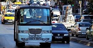 İstanbul'da servis, taksi, minibüs, taksi dolmuş ücretlerine yeni tarife