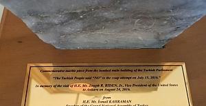 TBMM Başkanı Kahraman'dan Biden'a anlamlı hediye