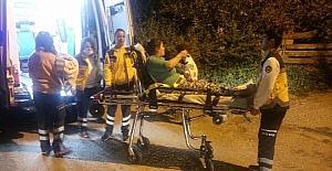 Başkent'te gecekondu yangını: 2 yaralı