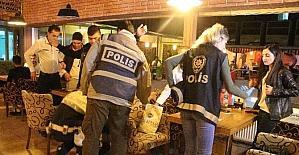 Elazığda 500 polisle huzur operasyonu
