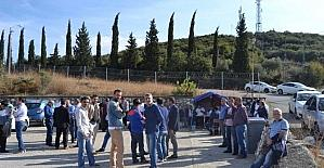 Gemlik Gübre grevi 34. güne girdi