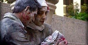 Müslümanlara ölü çocuklarına sarılmak düştü