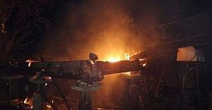 Sinopta yangın: 1 ölü