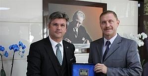 Acıgöl Belediye Başkanı Ertaş, DSİ 12. Bölge Müdürü Bal'ı ziyaret etti