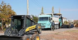 Aksaray'da asfalt çalışmaları sürüyor