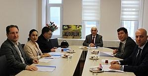Alaplı Meslek Yüksekokulu'nda Meslek Yüksekokulları müdürler toplantısı yapıldı