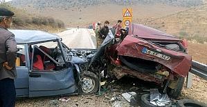 Araban'da trafik kazası: 6 yaralı