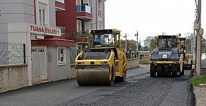 Ataevler mahallesi asfaltlanıyor