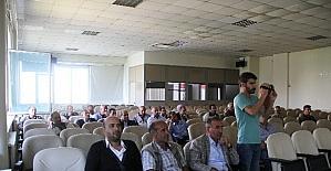 Bağlar Belediye personeline iş güvenliği semineri