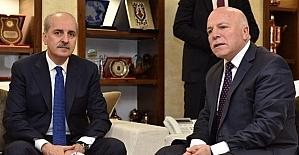 Başbakan Yardımcısı Kurtulmuş'tan Başkan Sekmen'e övgü
