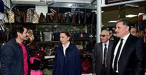 Başkan Çakır İnönü Kapalı Çarşısı esnafı ile bir araya geldi