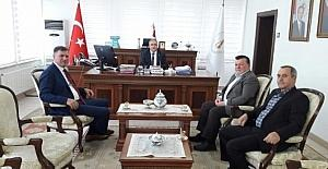 Başkan Duymuş'tan Vali Nayir'e ziyaret