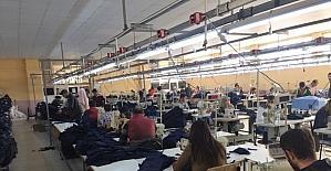 Başkan Gürsoy'dan tekstil fabrikasına ziyaret