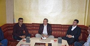 Başkan Mehmet Yıldırım, basın...