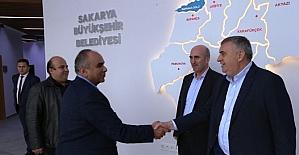 Başkan Toçoğlu, iş adamları ve STK temsilcilerine hizmetleri gezdirdi
