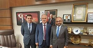 Başkan Üzülmez, Ankara'da temaslarda bulundu