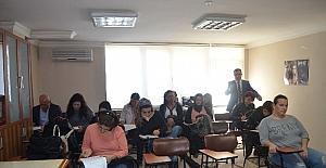 Berberler ve Kuaförler Odası'nda kapsam dışı meslek sınavı yapıldı