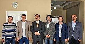 BİGACEM'den Ahlat Belediye Başkanı Çoban'a ziyaret