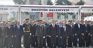 Bozüyük'te 29 Ekim Cumhuriyet Bayramı kutlamaları başladı