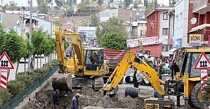 Büyükşehir erenler diyarı Horasan'da Da 7/24 çalışıyor