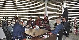 CHP Saruhanlı İlçe Teşkilatından MASKİ'ye ziyaret