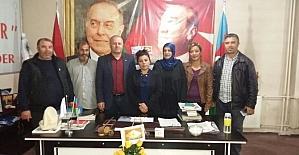 Diriliş Başkanları Derneğinden ASİMDER'e ziyaret