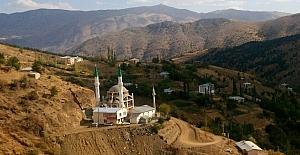 Düdan Köyüne çift minareli cami yapılıyor