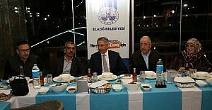 Elazığ Belediye Başkan Yanılmaz, akademisyenlerle bir araya geldi