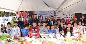 Gençlik Merkezlerinden 15 Temmuz Şehitleri İçin Kermes