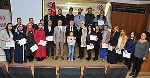 Girişimci adaylarının belge heyecanı